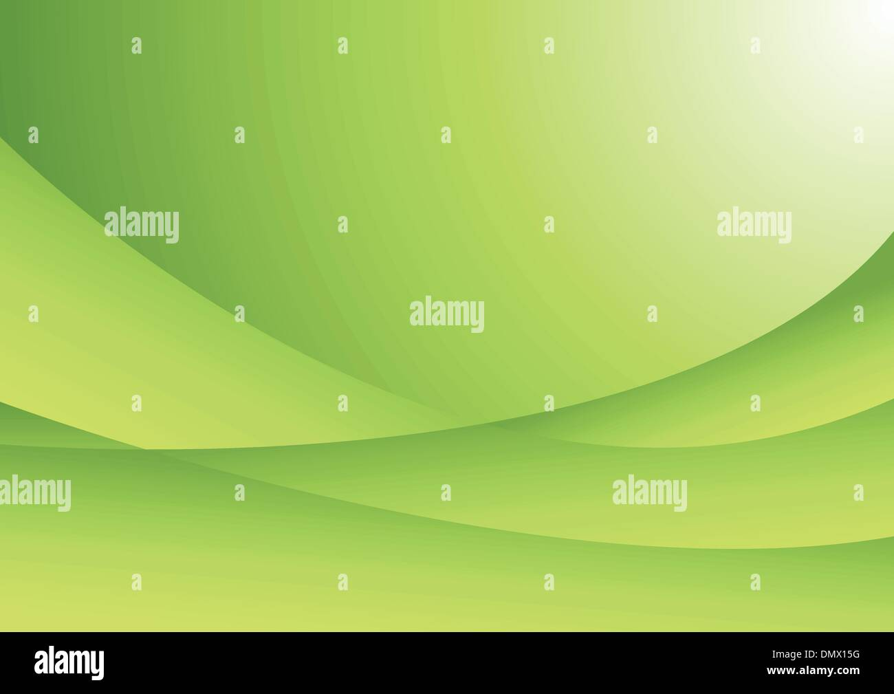Vector abstract green hi-tech background - Stock Image