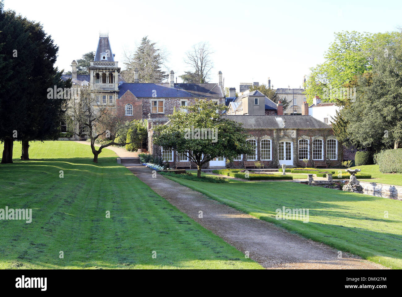 Goldney Hall in Clifton, Bristol. - Stock Image