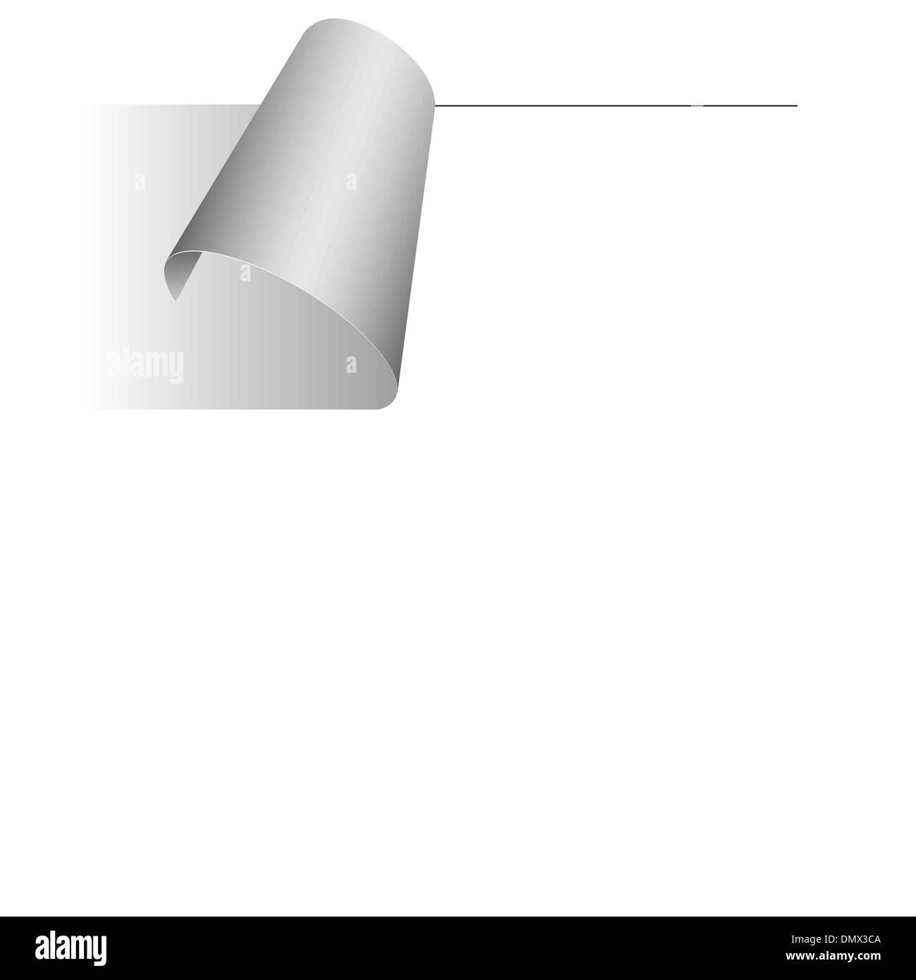 vector sticker - price tag - notice - Stock Image