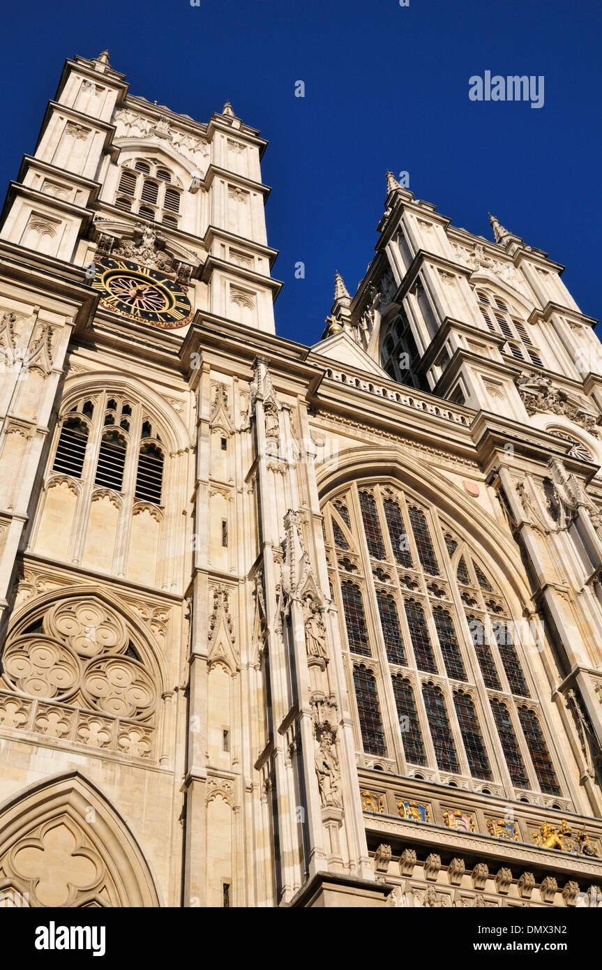 Westminster Abbey, 20 Deans Yard, London SW1P 3PA, United Kingdom - Stock Image