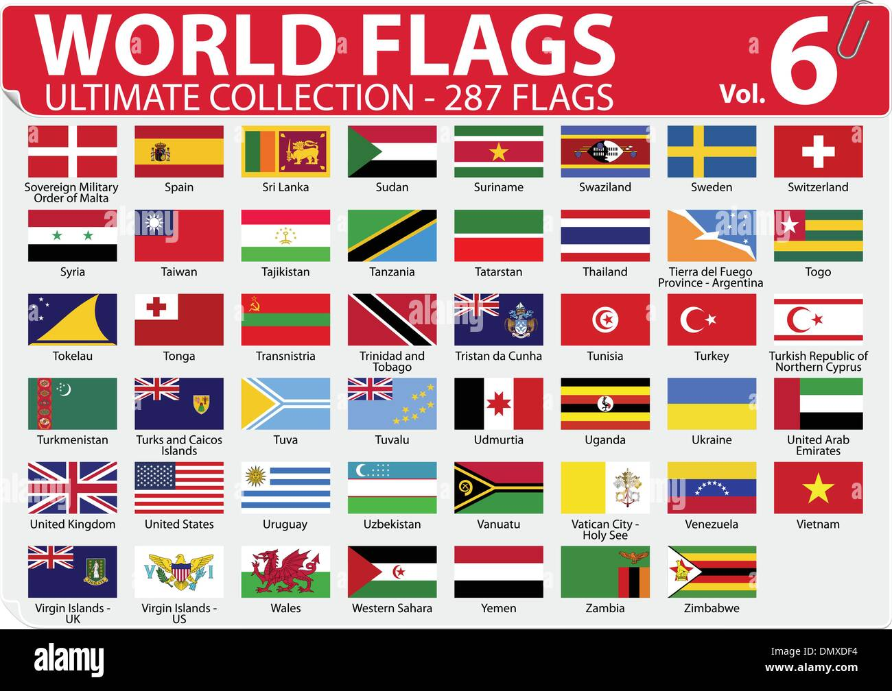 World Flags - Ultimate Collection - 287 Flags
