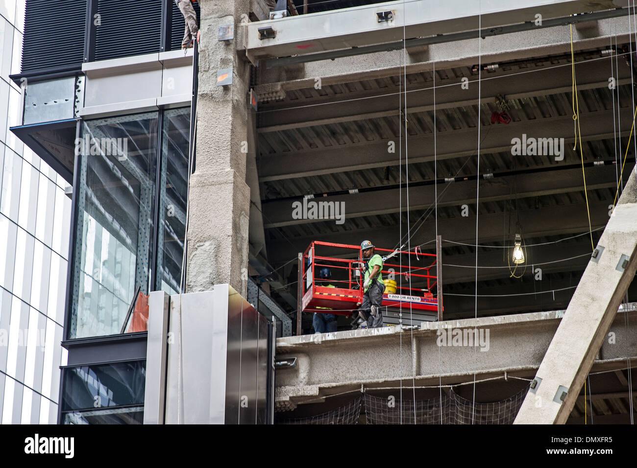 Construction men building Stock Photo