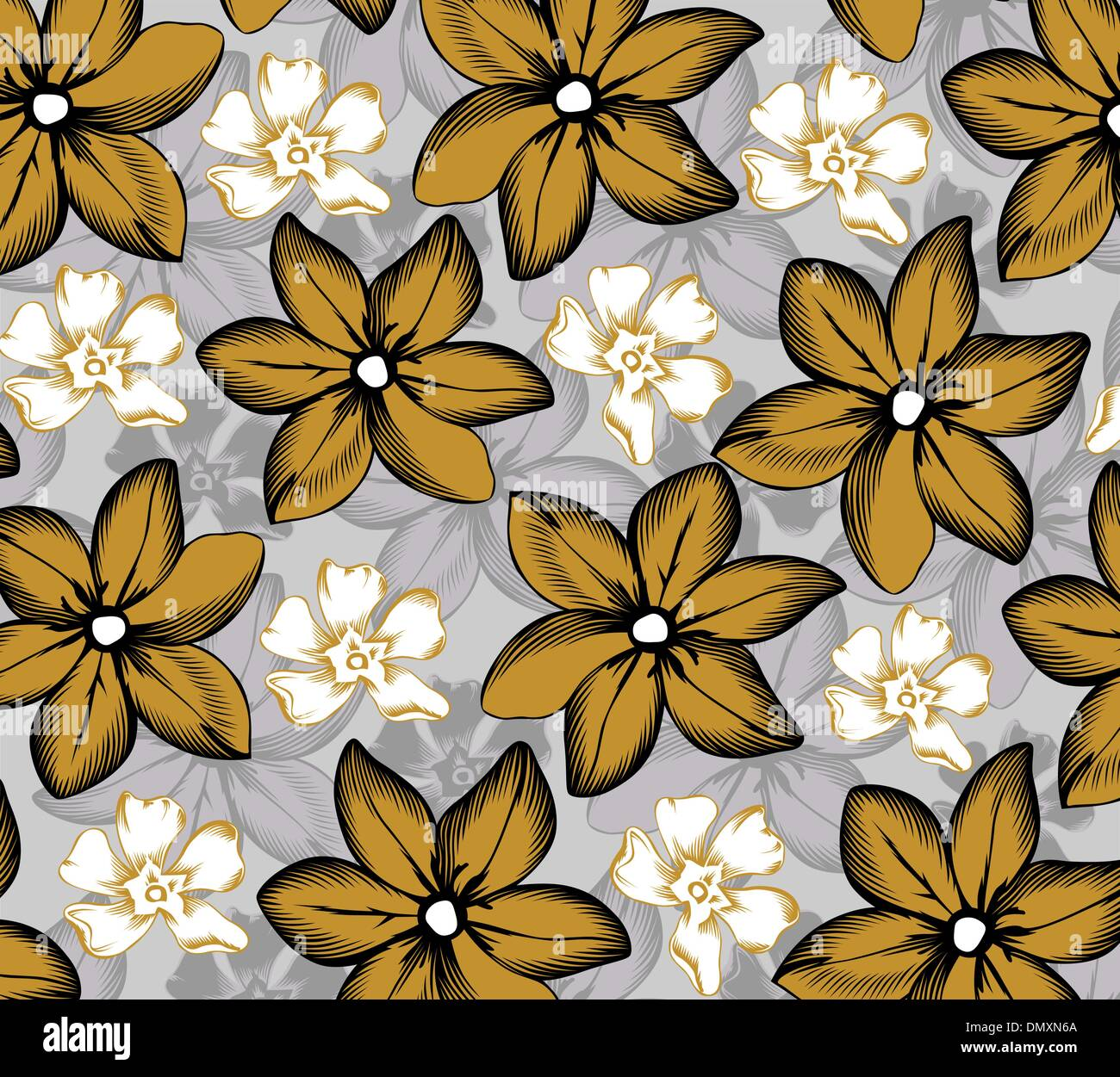 Hawaiian Flowers Stock Vector Images Alamy