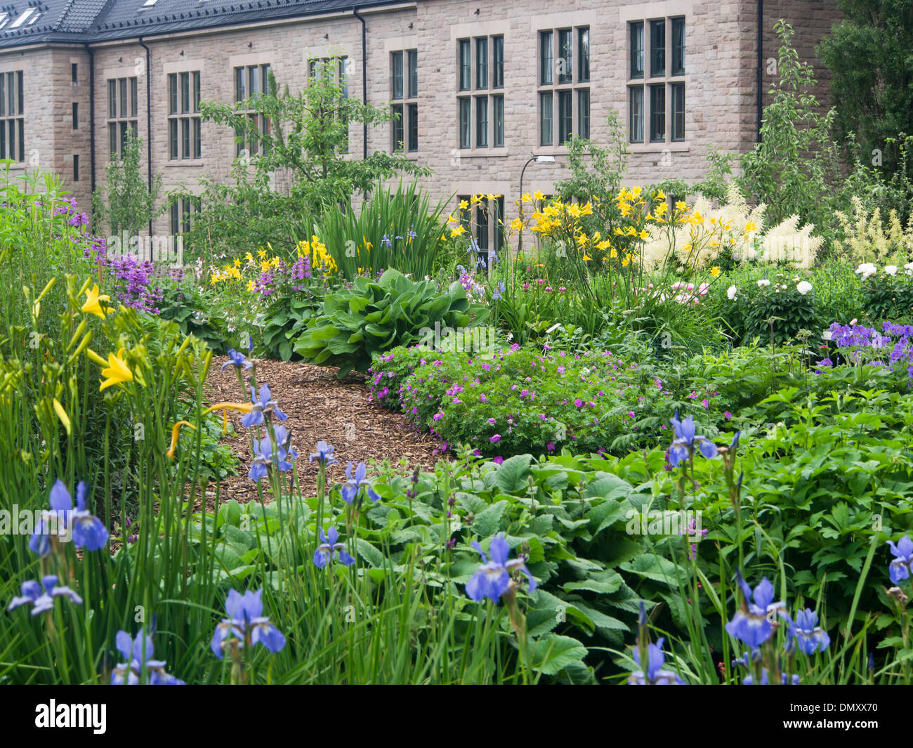 Botanical Garden In Oslo Has Set Up Great Grandmothers Garden, Displaying  Flowers Traditionally Cultivated In Norwegian Gardens