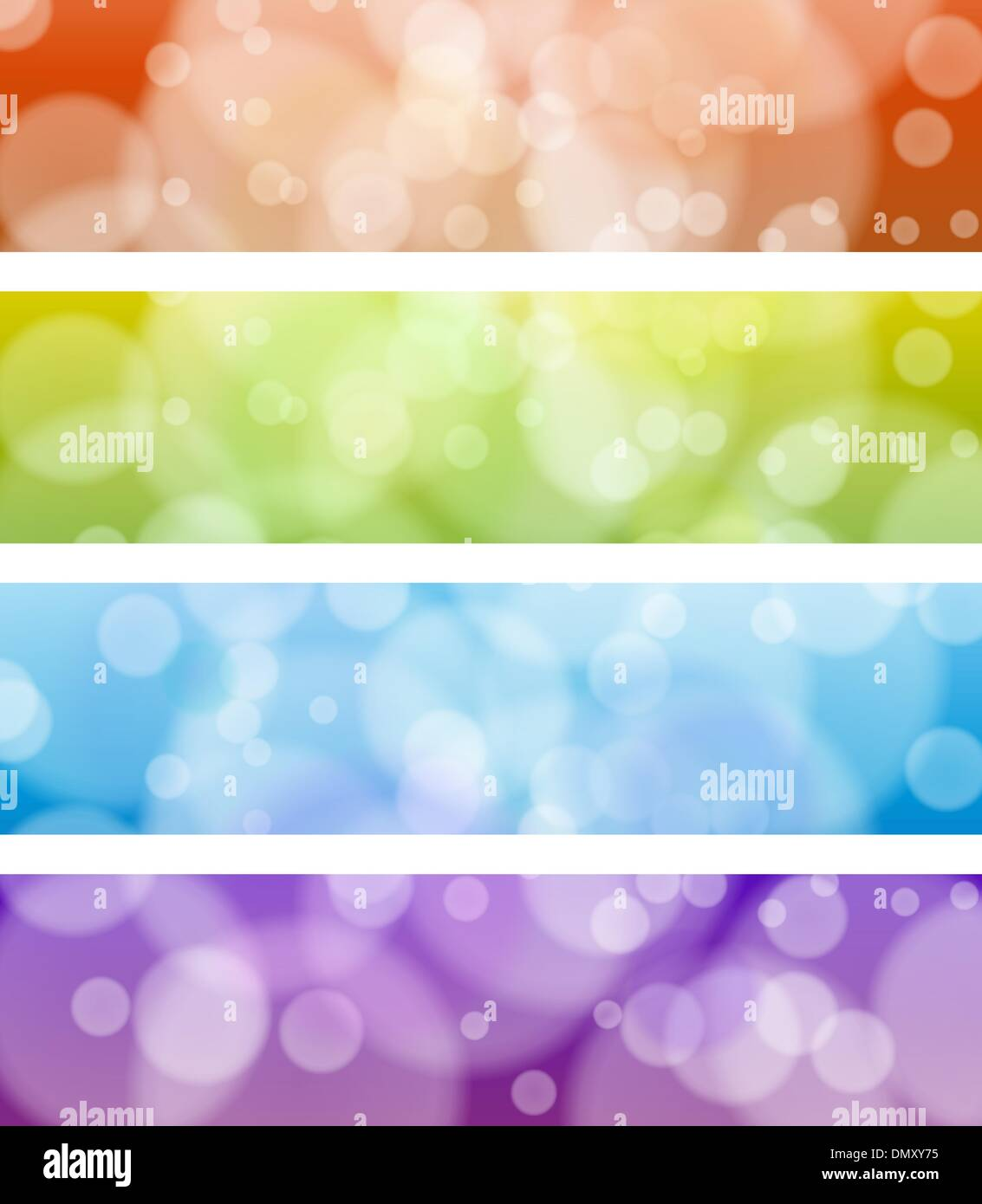 Web banners - Stock Image