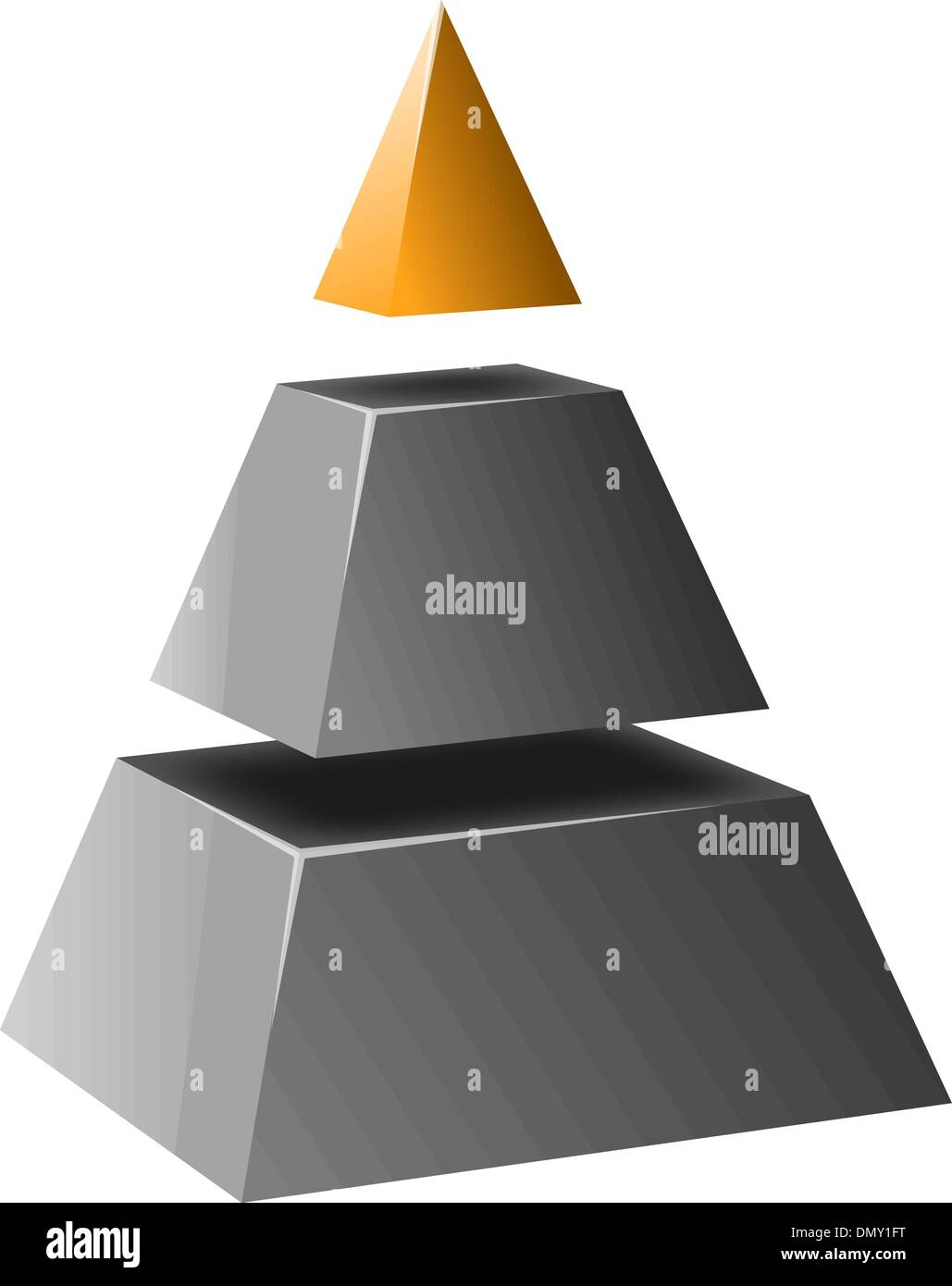 Business Performance Pyramid Stock Photos & Business Performance ...