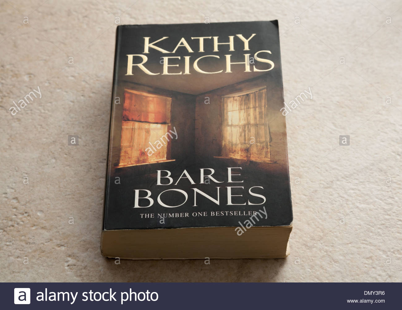 Crime fiction book written by Kathy Reichs EDITORIAL USE ONLY - Stock Image