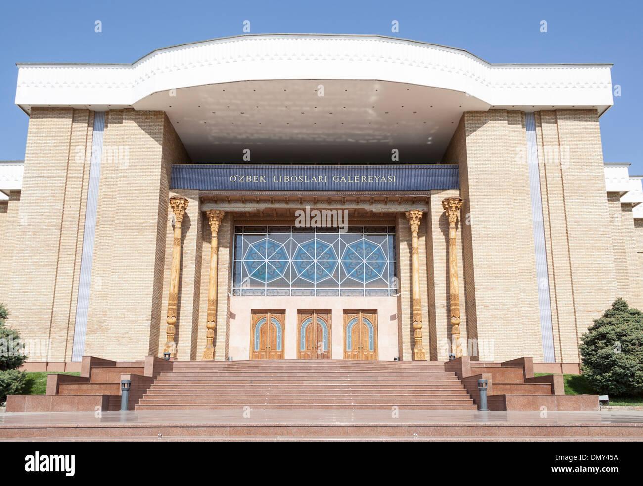 National Arts Centre, Ozbek Liboslari Galereyasi, Tashkent, Uzbekistan - Stock Image