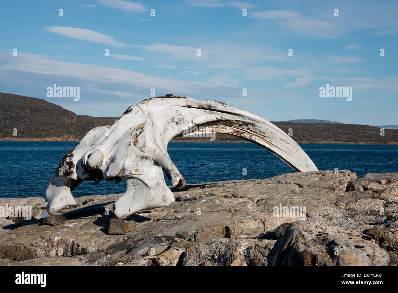 Canada, Nunavut, Qikiqtaaluk Region, Cumberland Sound, Kekerten Island. - Stock Image