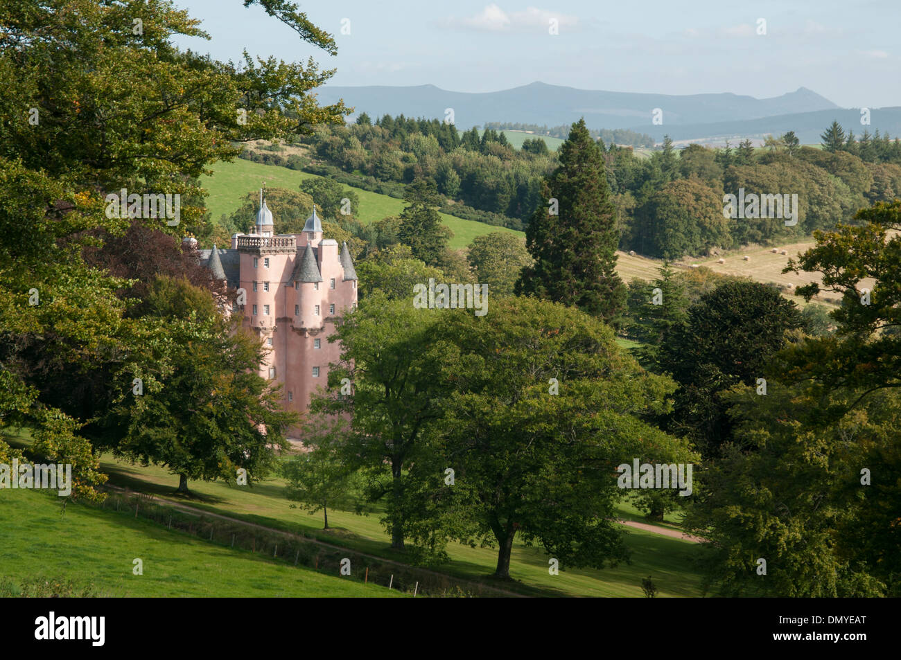 craigievar castle royal deeside a scottish castle Stock Photo