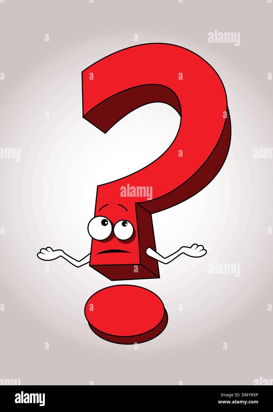 Question Mark Cartoon Stock Photos Question Mark Cartoon Stock