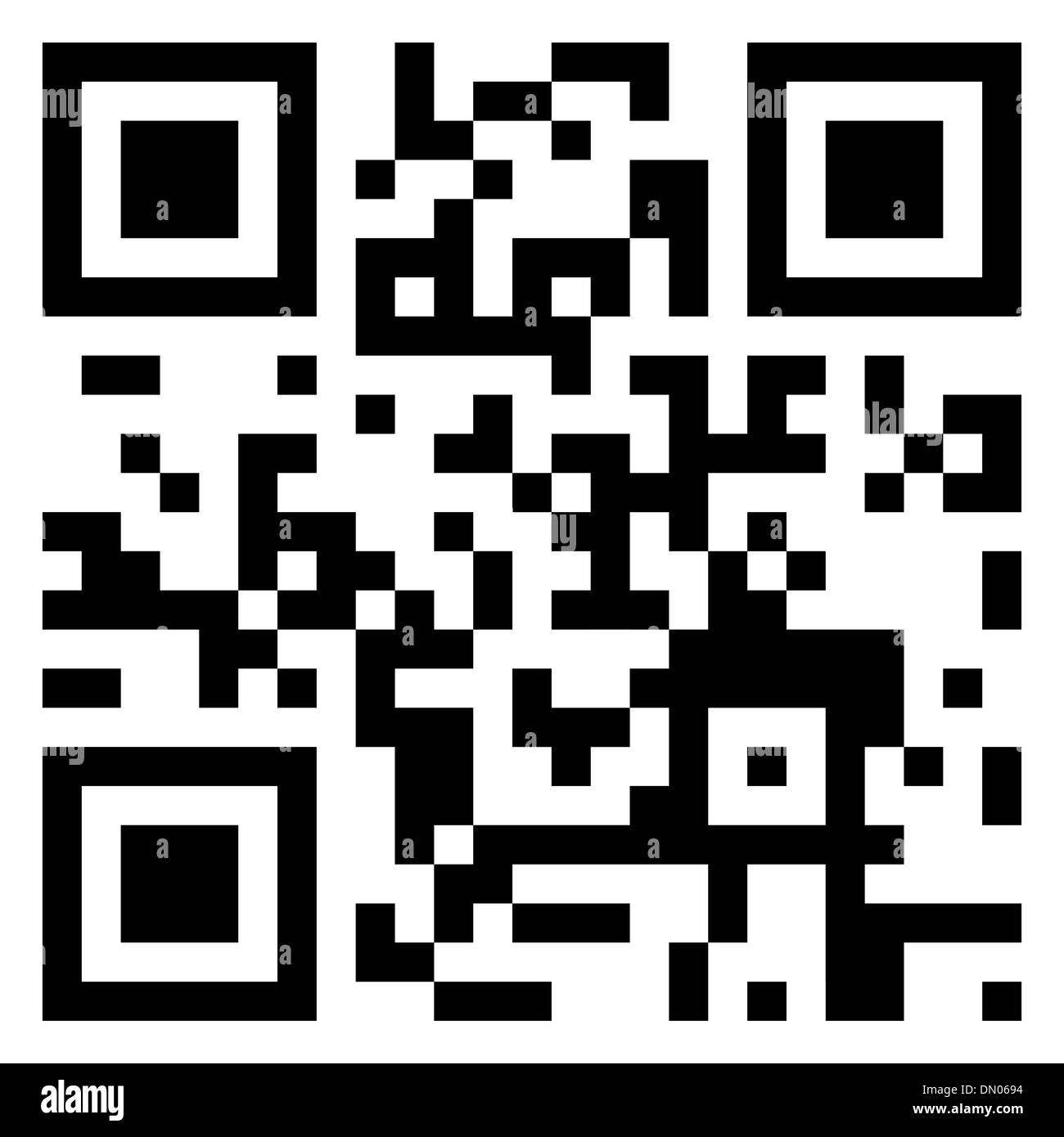 House for Sale data in qr code. EPS 8 - Stock Image
