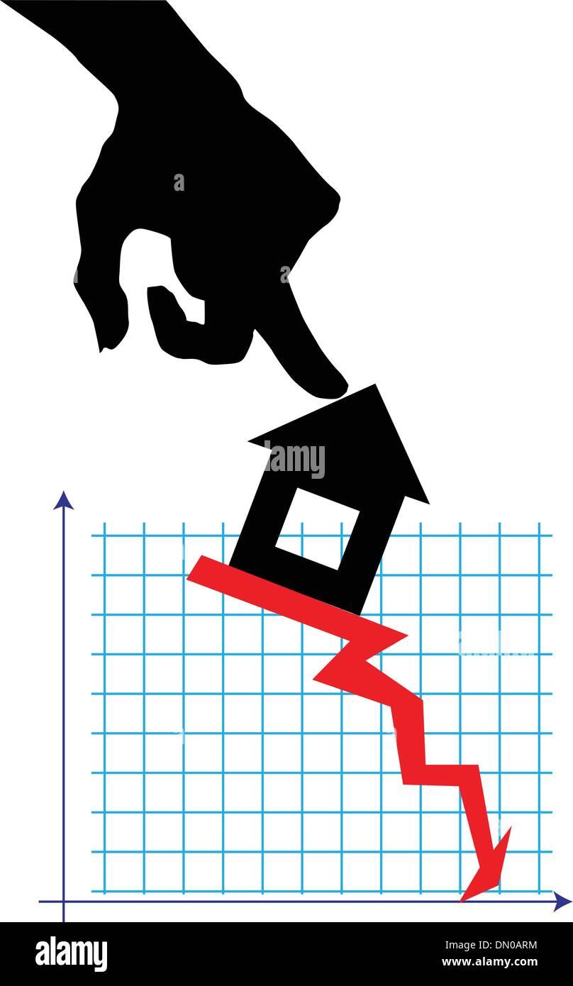 Real estate market - Stock Vector