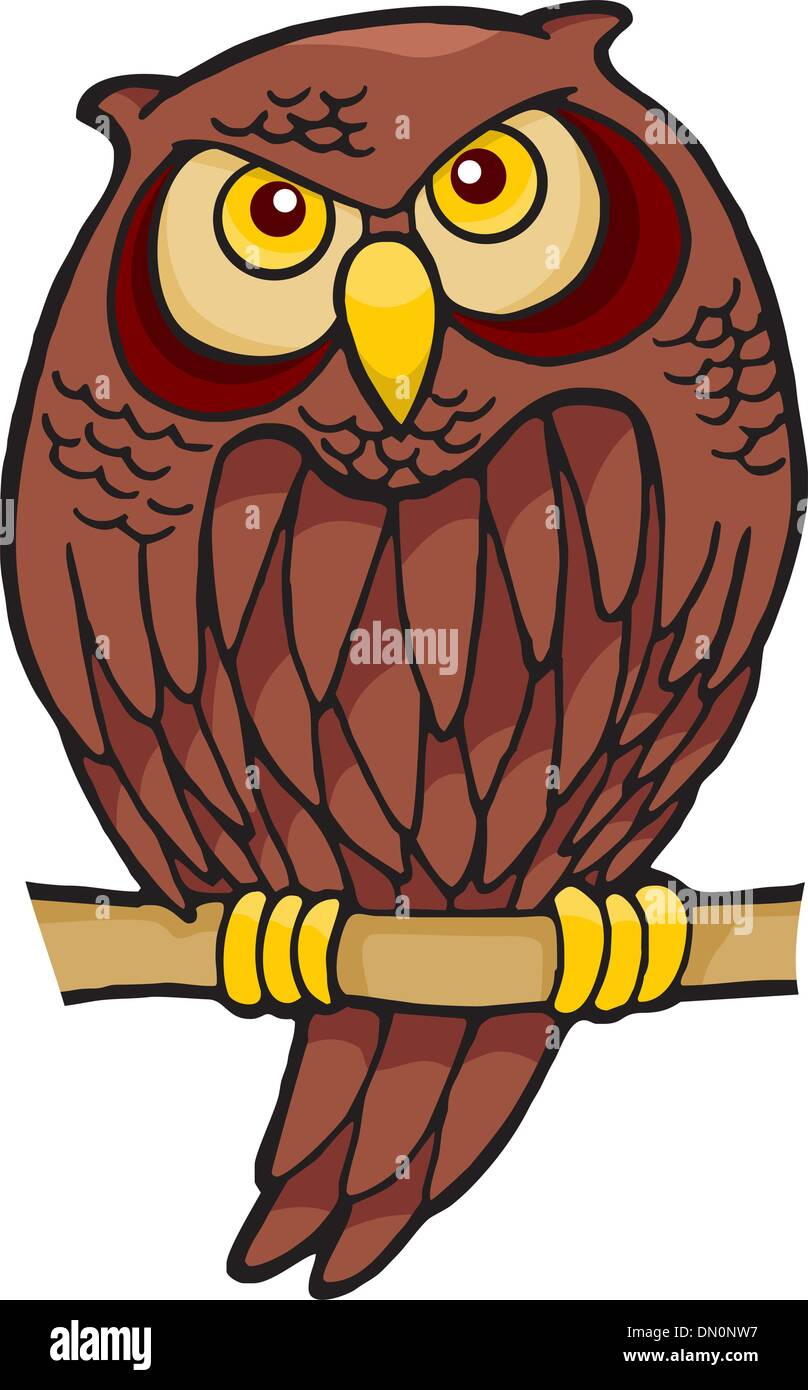 Owl Cartoon Stock Photos & Owl Cartoon Stock Images - Alamy