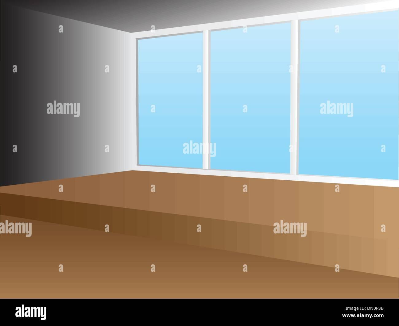 interior room - Stock Vector