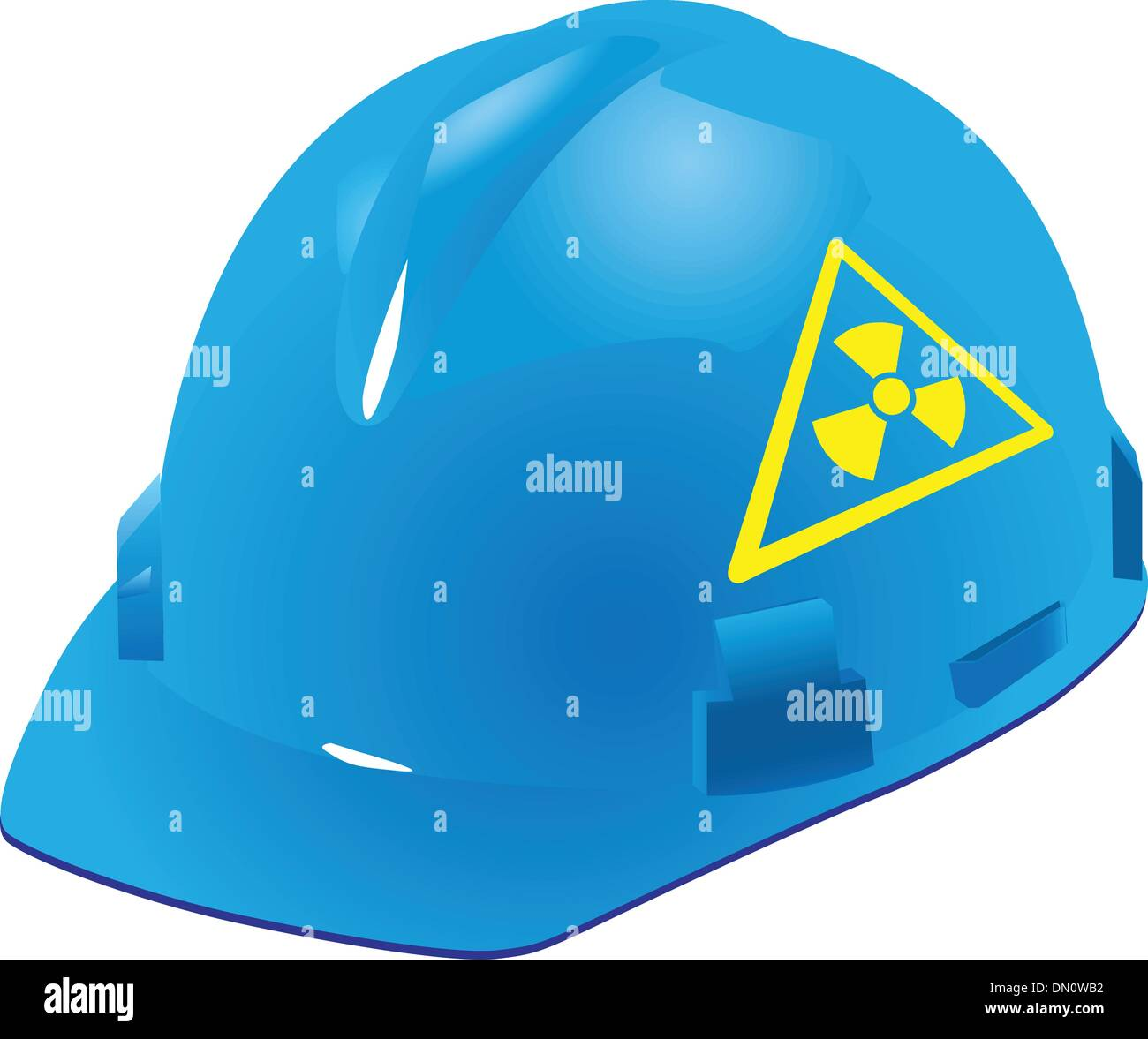 Sign of radiation safety - Stock Vector