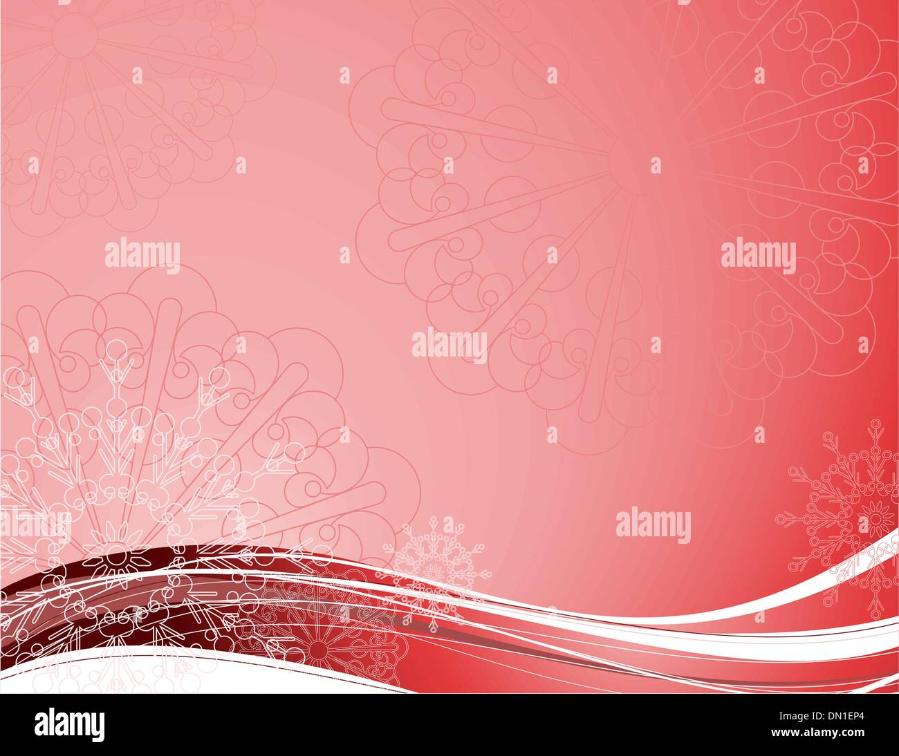 New Year's background - Stock Image