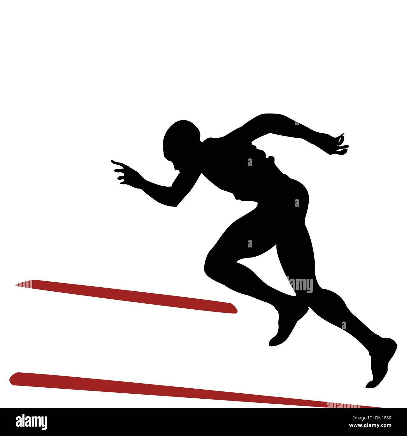runner - Stock Image