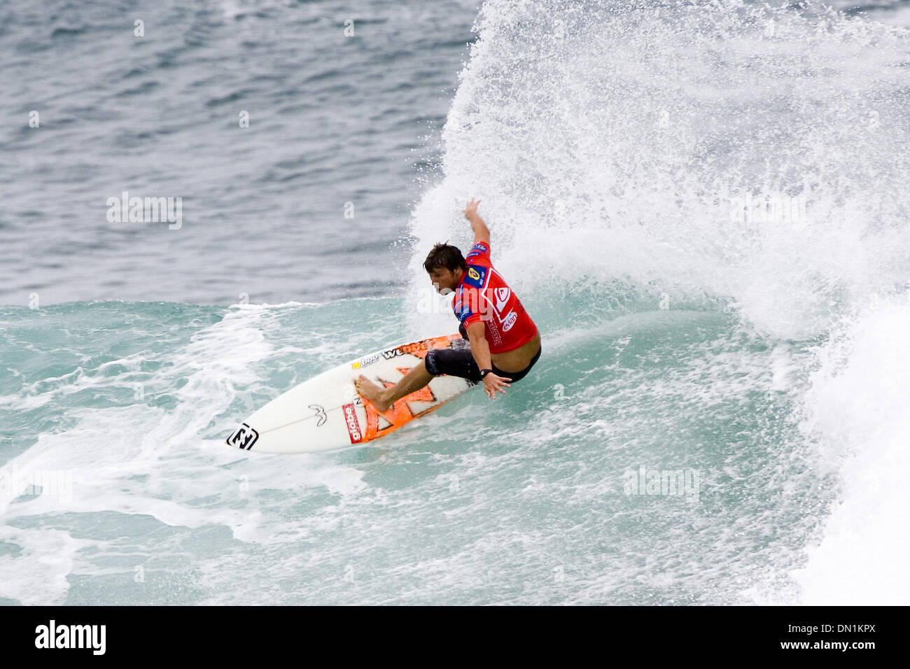 Mar 02, 2006; Snapper Rocks, Coolangatta, Queensland, AUSTRALIA; Former ASP world number two ranked surfer Australian Stock Photo