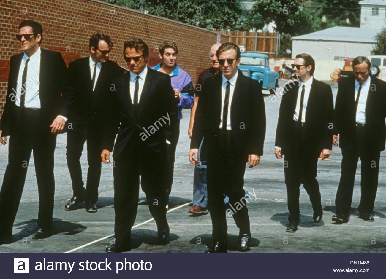 RESERVOIR DOGS 1992 Miramax Films production - Stock Image