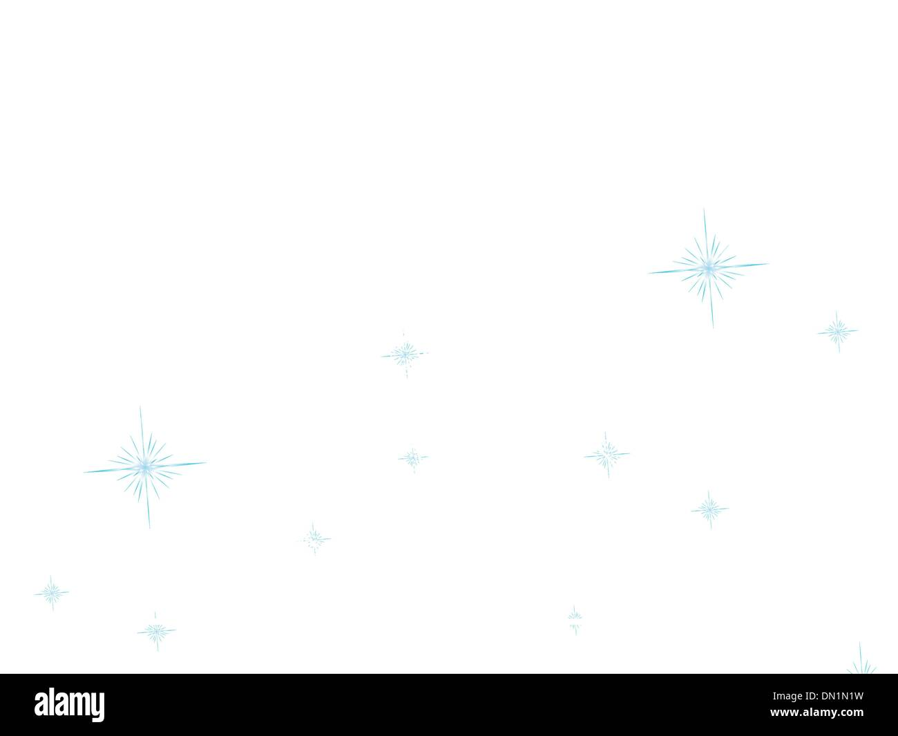 Christmas abstract tree on a blue bokeh  EPS 8 - Stock Image