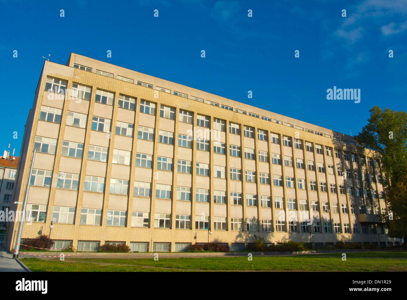 Home Office the interior ministry govenment building Bubenec district Prague Czech Republic Europe - Stock Image
