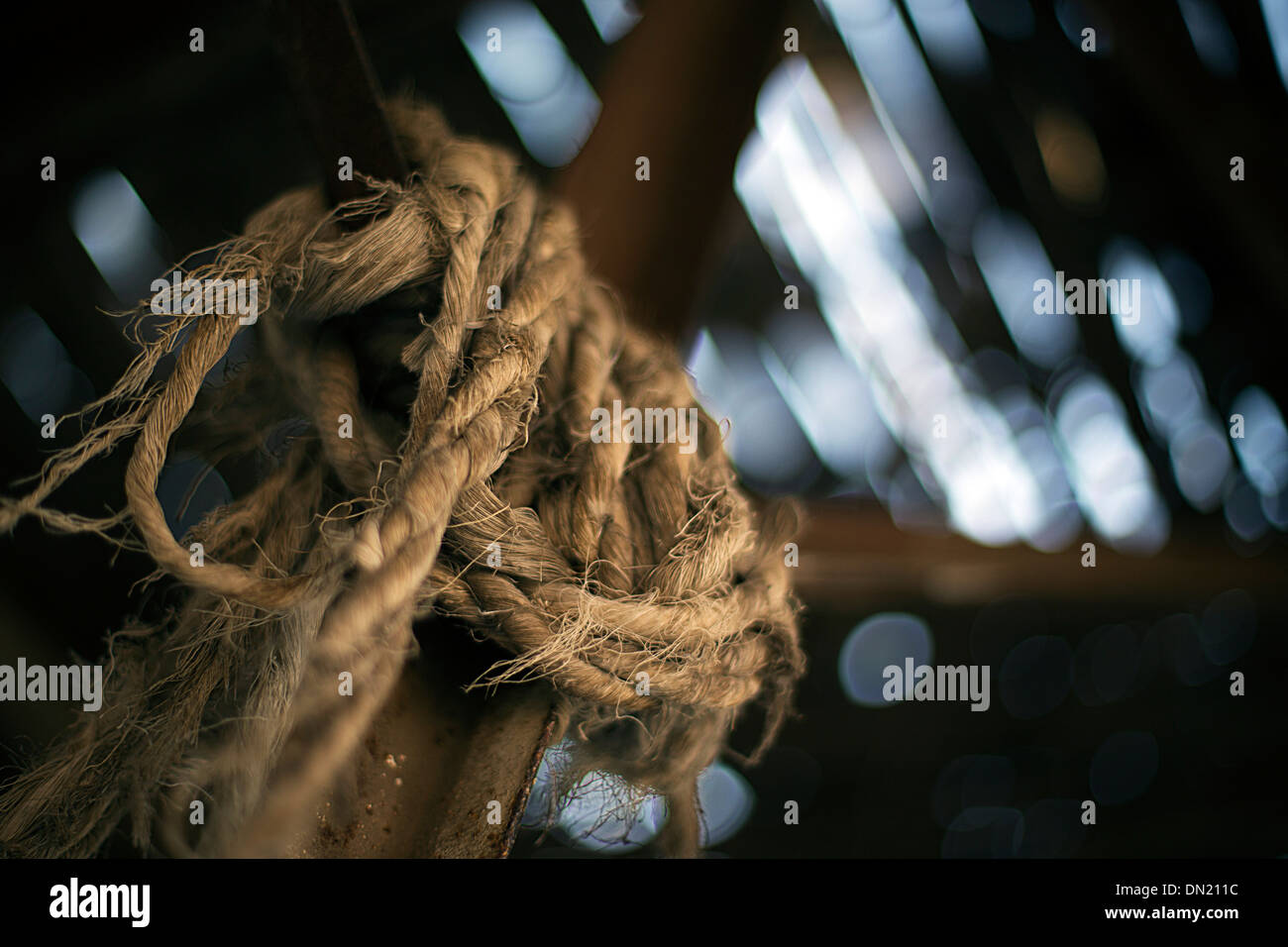 robe rust raptured  flair bokeh - Stock Image