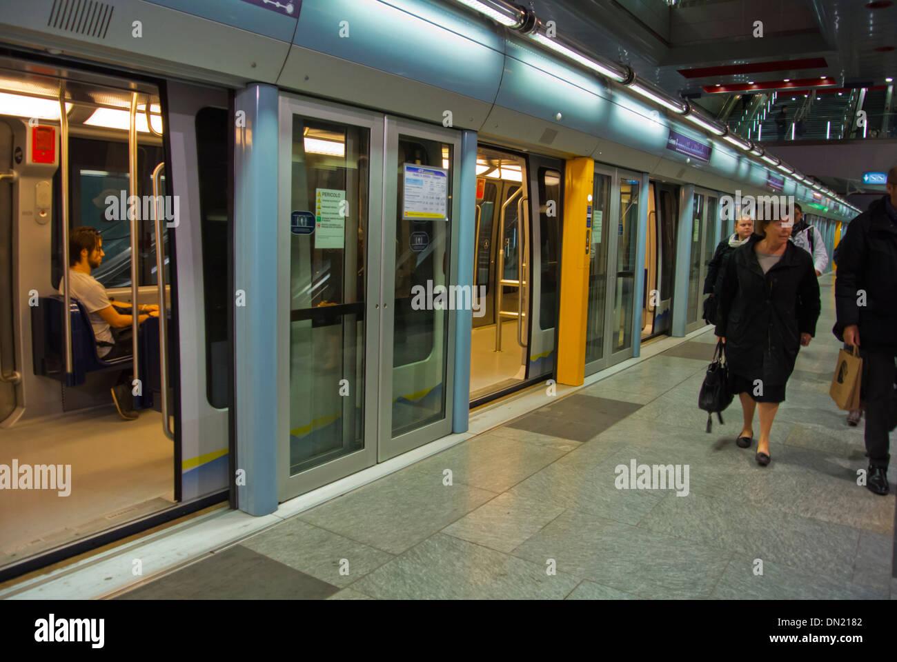 Metro Turin Piedmont region Italy Europe - Stock Image