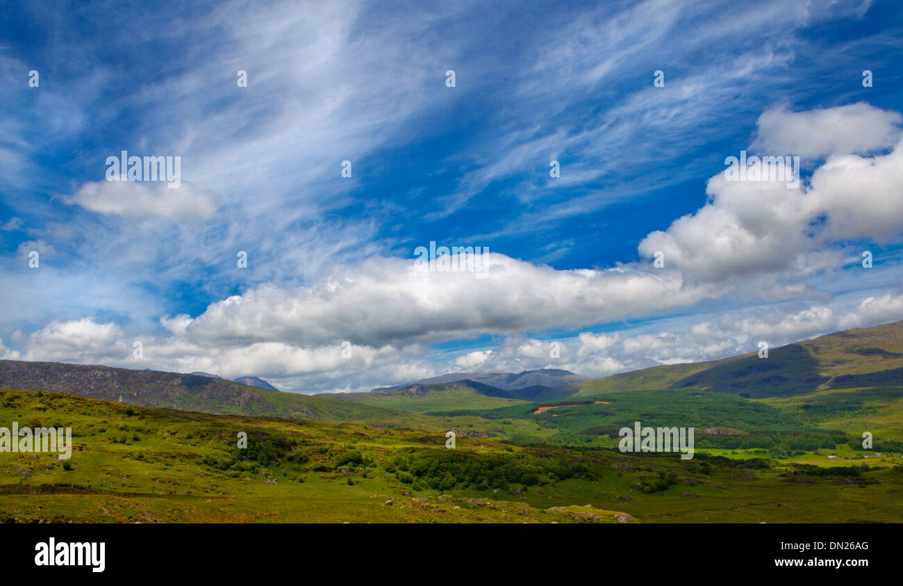 A welsh landscape - Stock Image