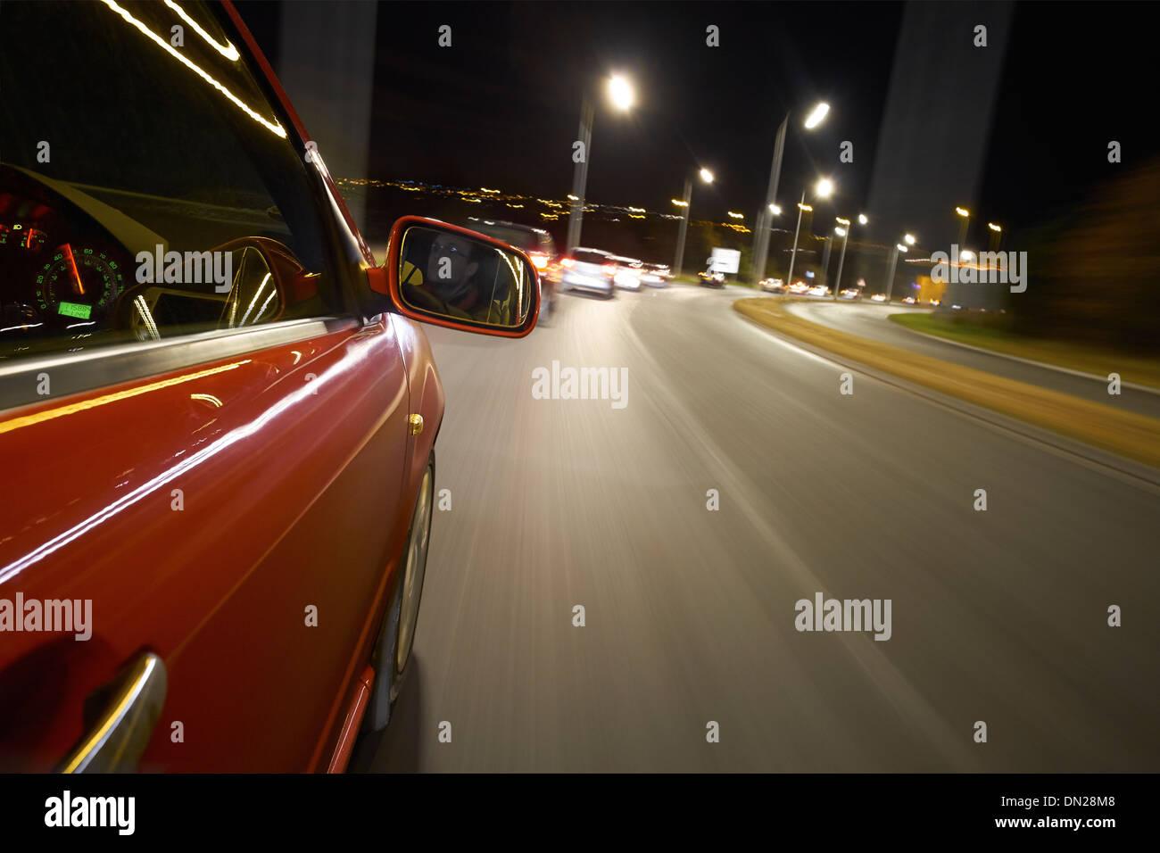 man driving car night stock photos amp man driving car night