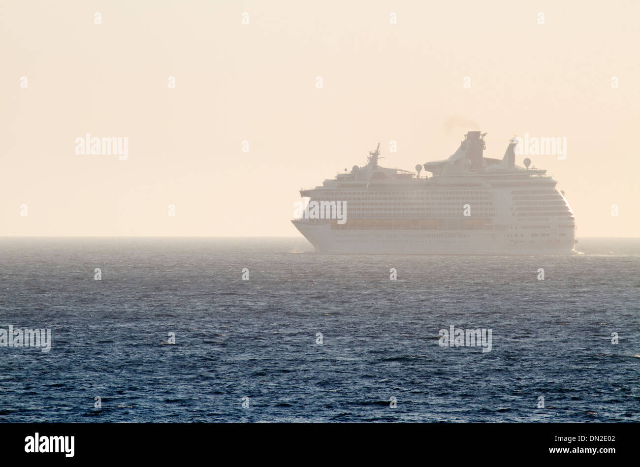 Cruise ship from Royal Caribbean. - Stock Image