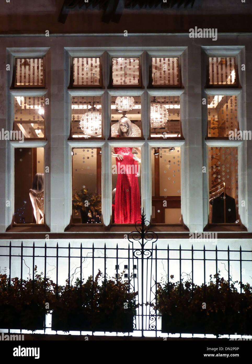 Jenny Packham fashion store, Mayfair, London - Stock Image