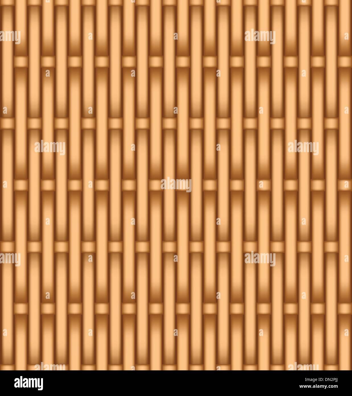 Basket weaving - Stock Vector