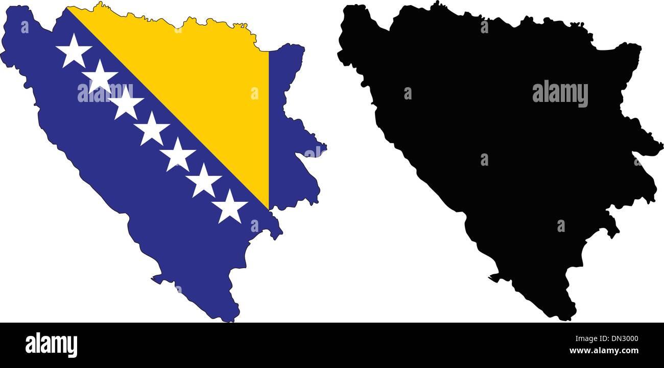 Bosnia - Stock Vector