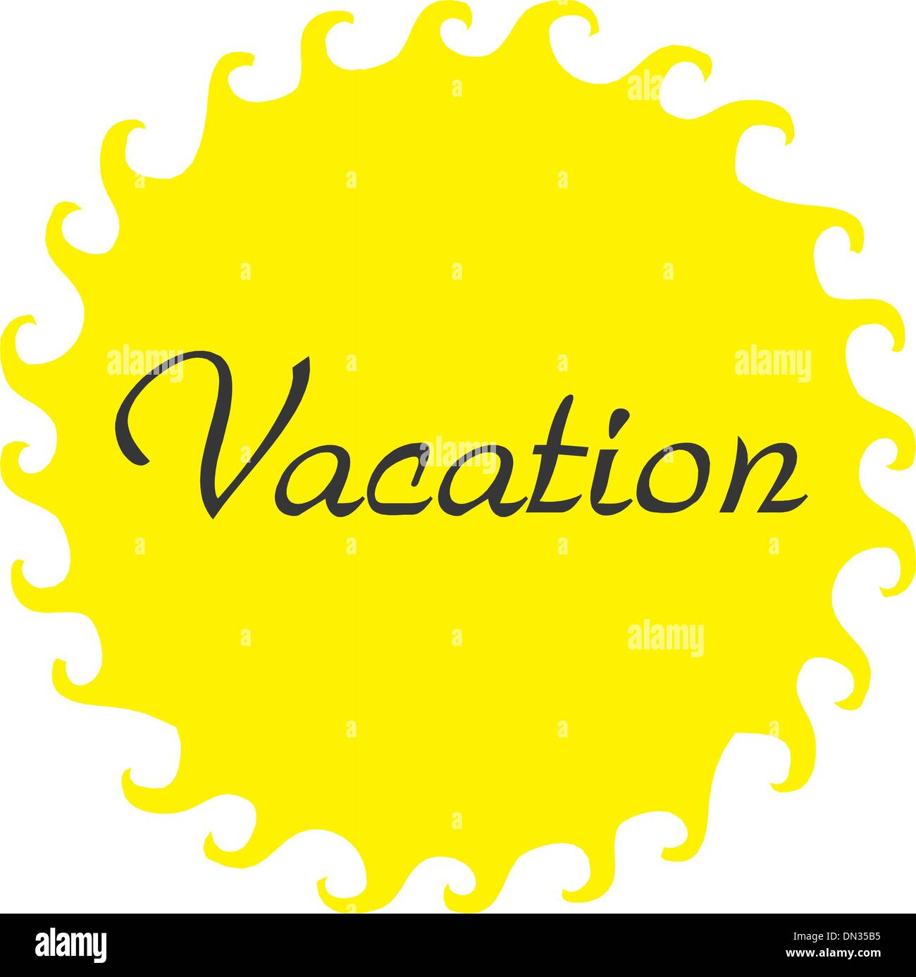 Vacation - Stock Vector