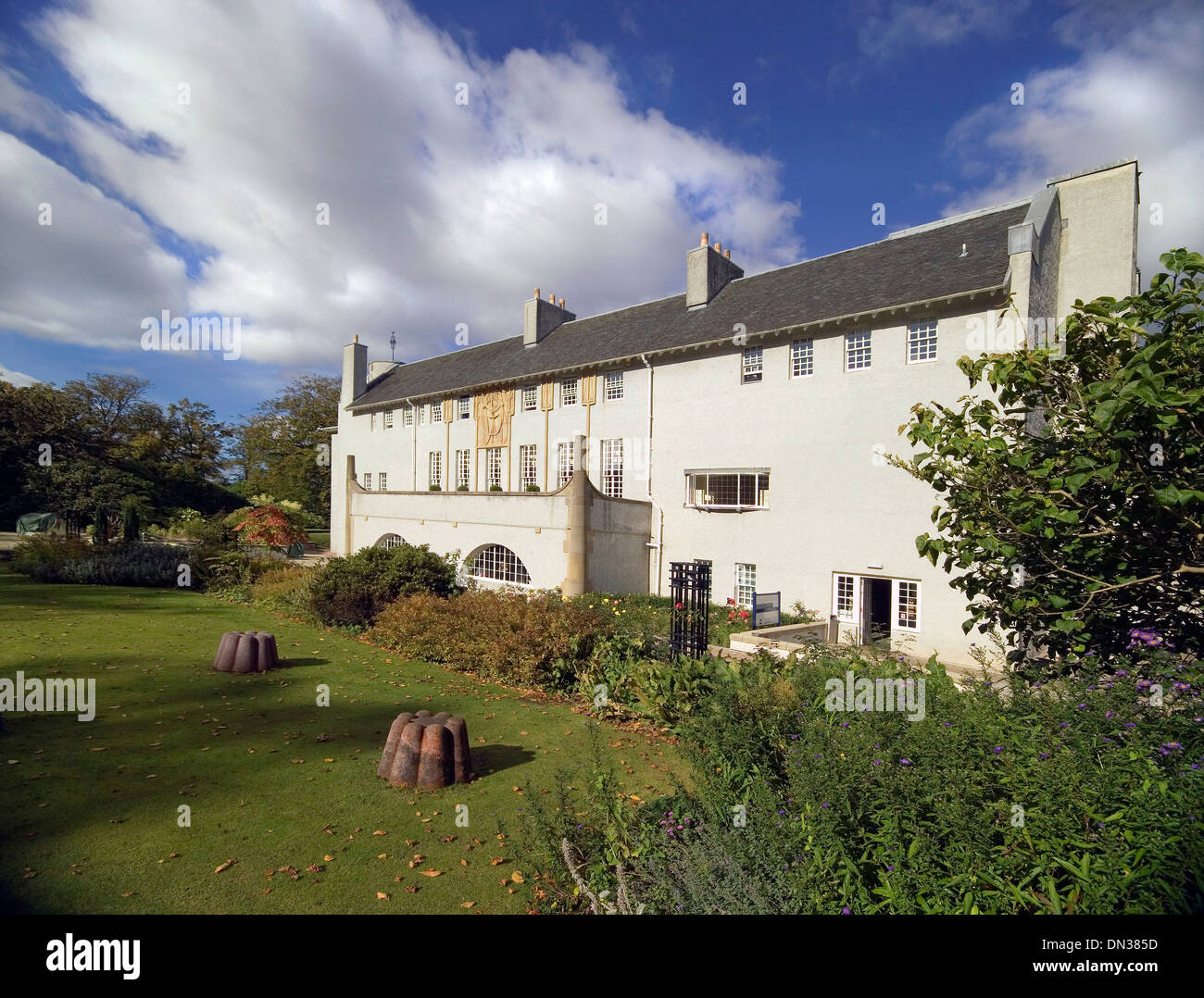 house for an art lover Rennie Mackintosh glasgow - Stock Image