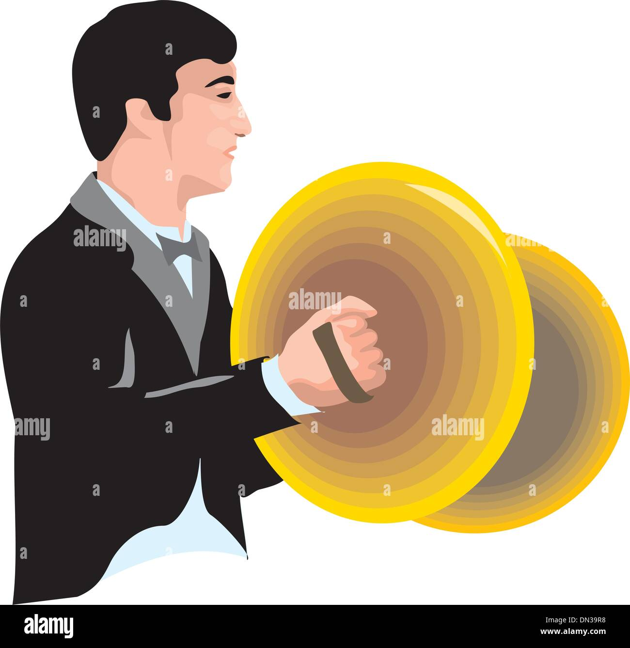 Cymbals Music Stock Vector Images Alamy