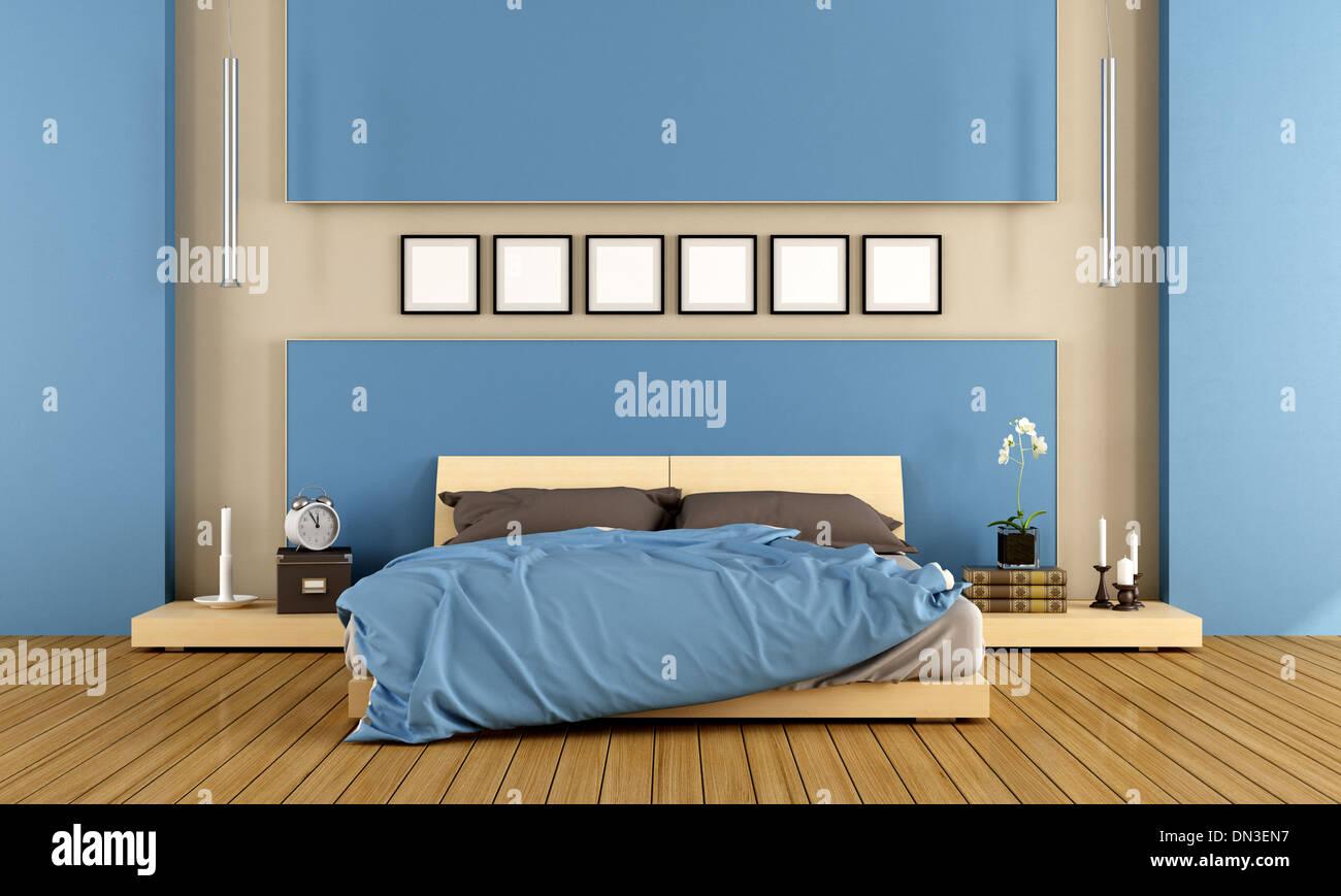 Bed Bedroom Modern Niche Stock Photos & Bed Bedroom Modern Niche ...