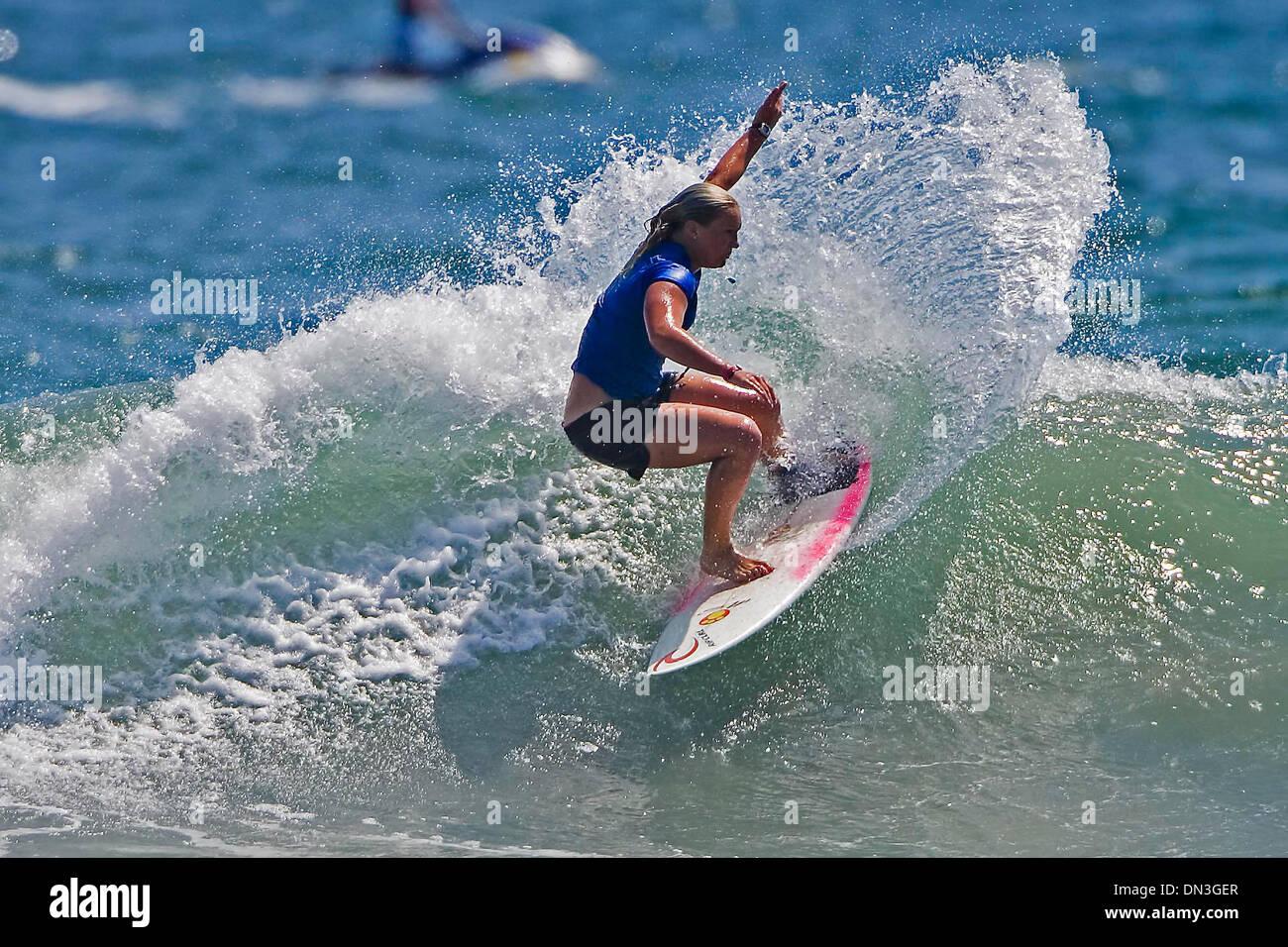 Jul 29, 2006; Hunington Beach, CA, USA; ASP world Junior champion Australian JESSI MILEY-DYER (Bronte, Sydney, NSW, Stock Photo