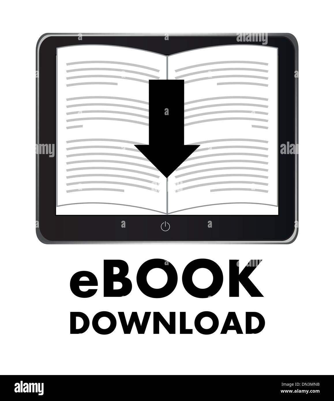 ebook Stock Vector