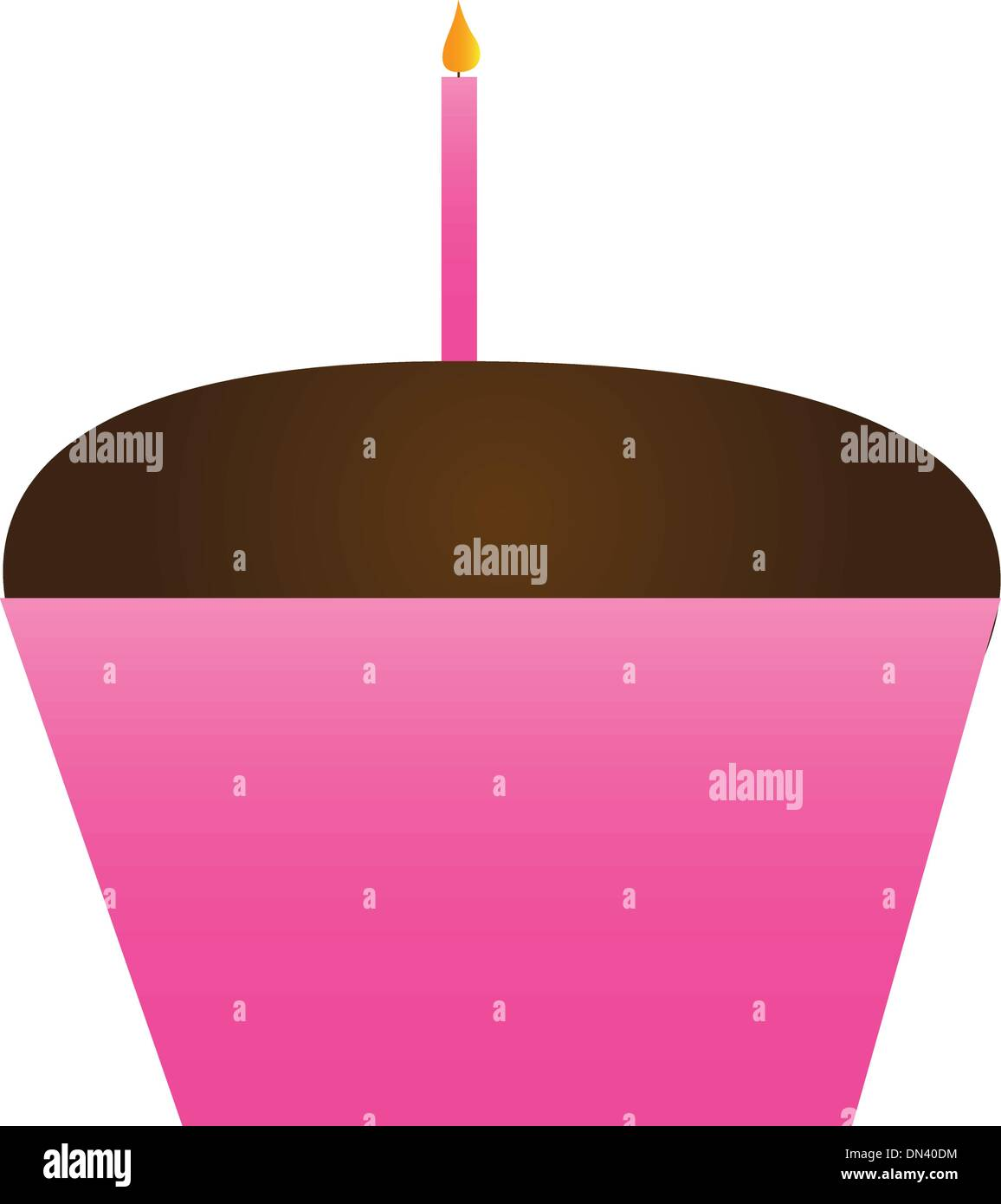 cupcake - Stock Vector