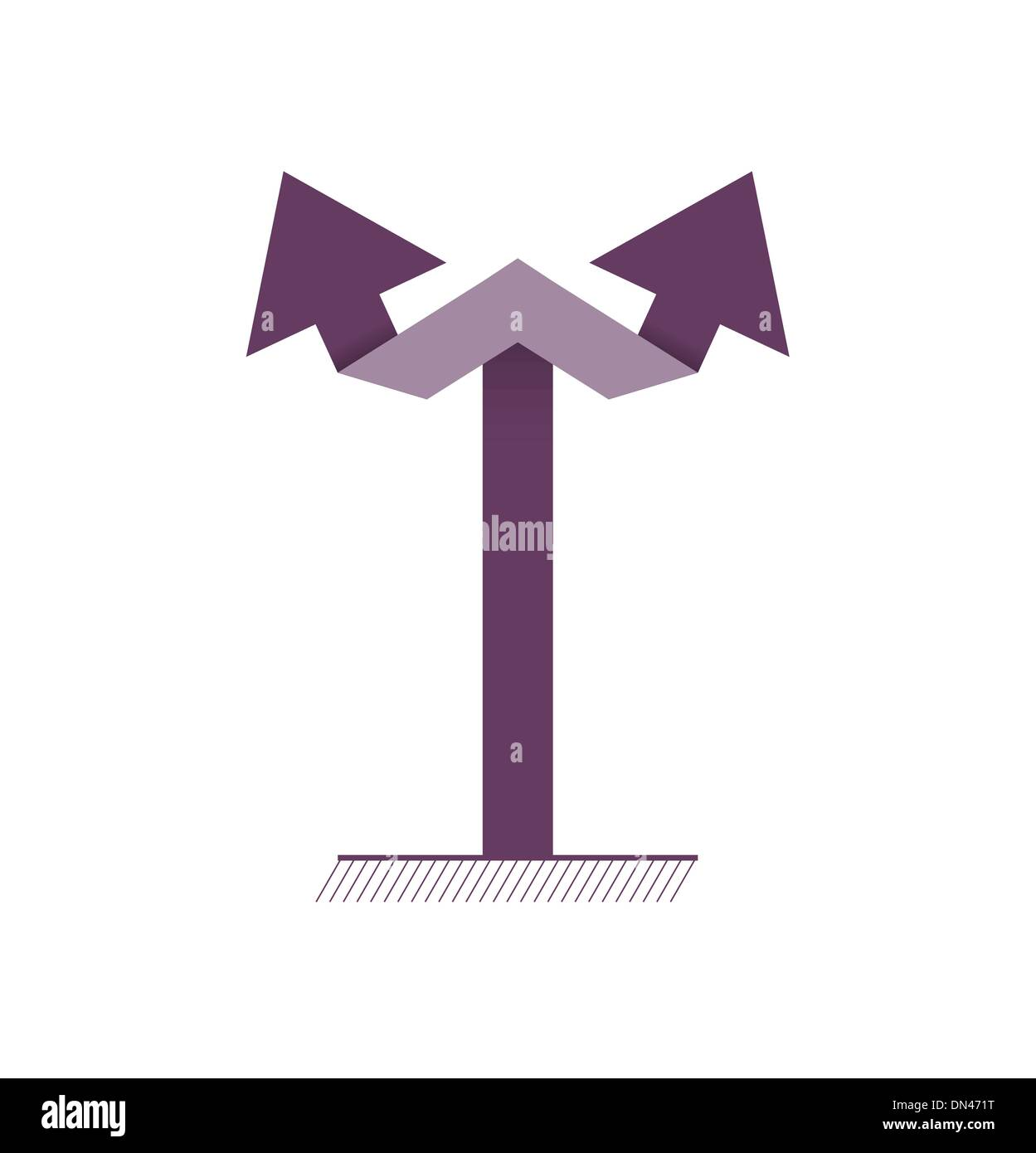 Double Arrow Symbol Stock Photos Double Arrow Symbol Stock Images