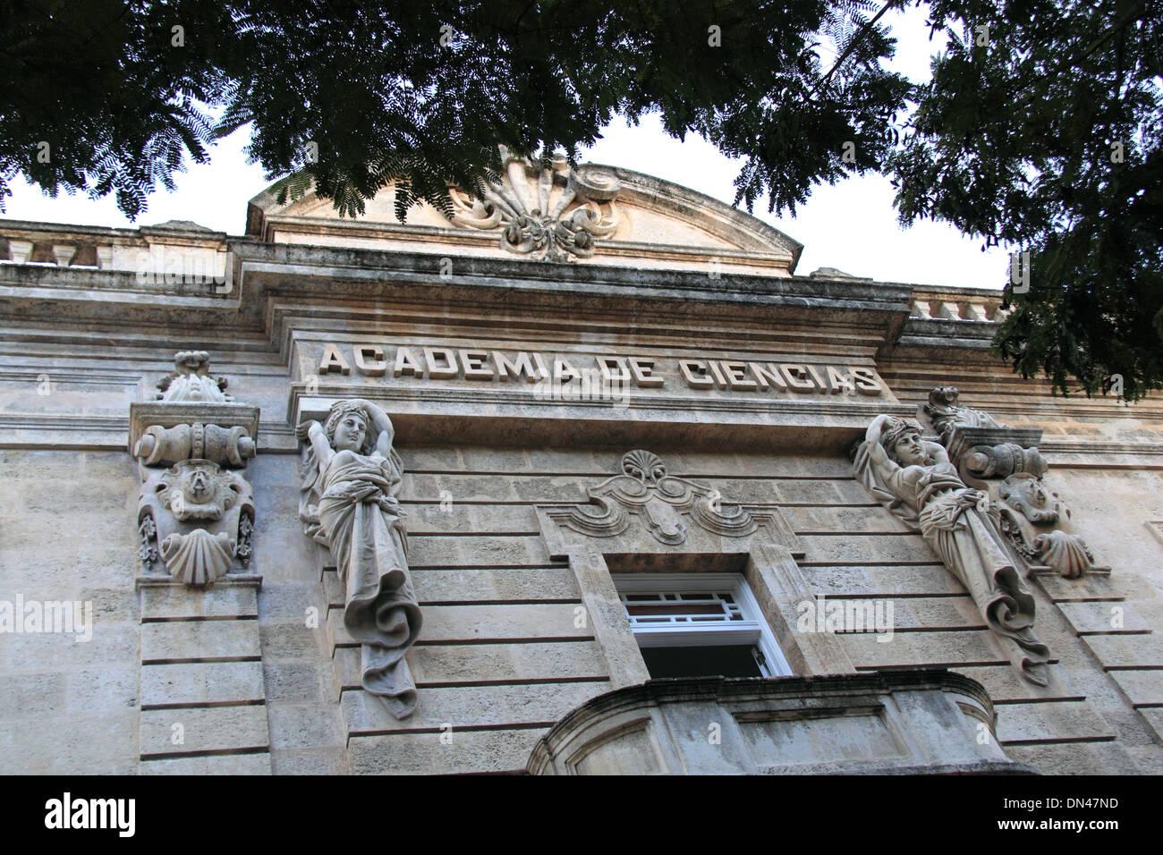 Museo Histórico de Las Ciencias Carlos J Finlay, Calle Cuba, Old Havana (La Habana Vieja), Cuba, Caribbean Sea, Central America - Stock Image