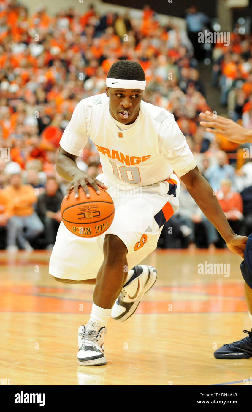 February 22 2009 Syracuse Guard Jonny Flynn 10 In