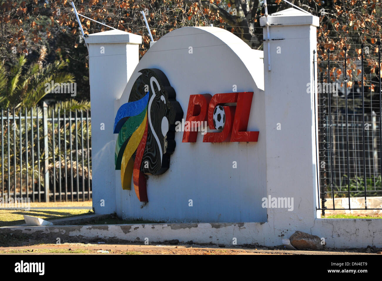 A PSL sign in Johannesburg, South Africa. - Stock Image