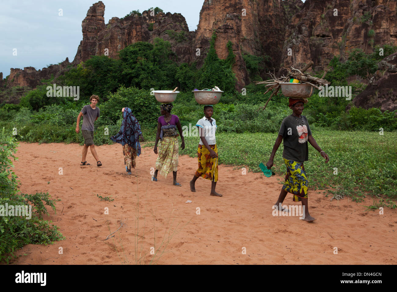 The Peaks of Sindou, Burkina Faso, West Africa. - Stock Image