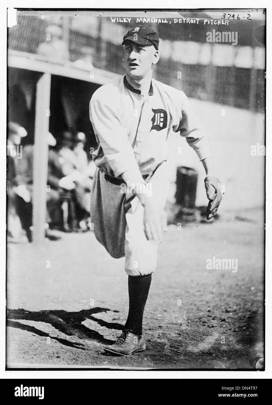 [Wiley Marshall, spring prospect pitcher, Detroit AL (baseball)] (LOC) - Stock Image