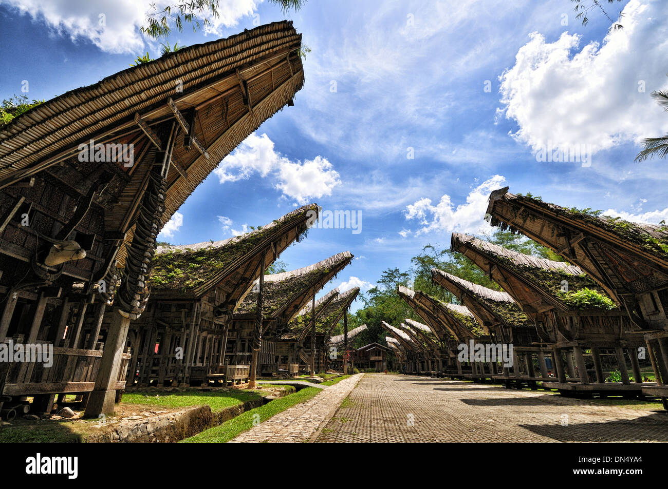 Kete Kesu of Tana Toraja, South Sulawesi - Stock Image