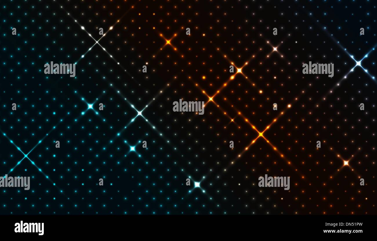 The stellar background - Stock Vector