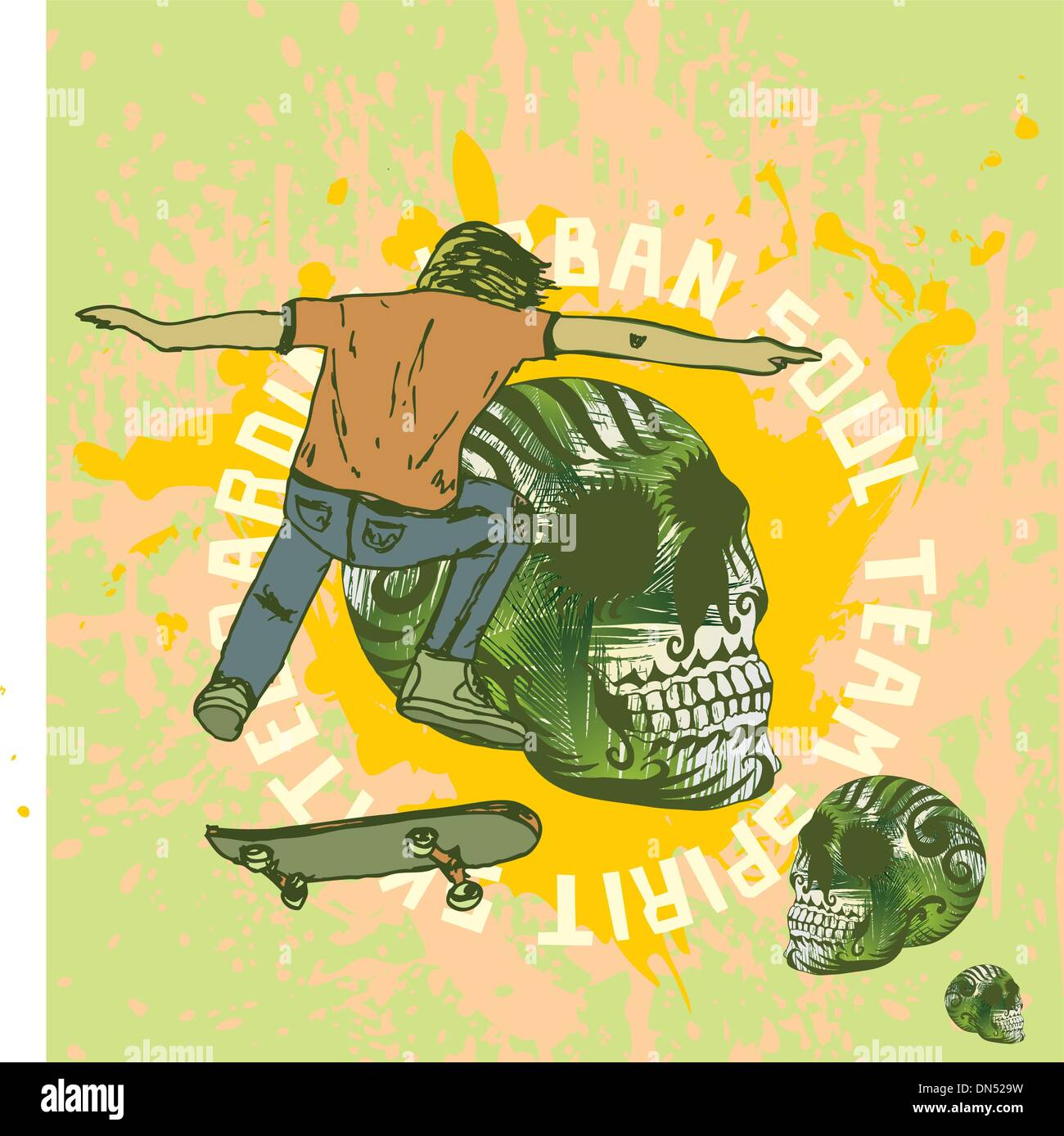 Skate Art Stock Photos & Skate Art Stock Images - Alamy